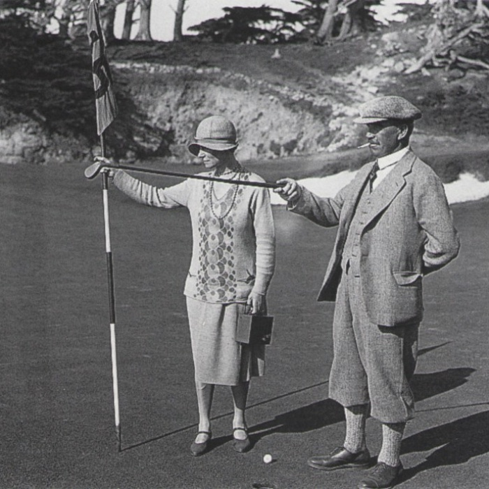 Alister MacKenzie 15th Cypress Point